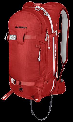 ectic-ch : Sac à Dos_Airbag_Mammut Technology 3.0 -_30L - Rouge - Dos - avec pelle et sonde_30L - Rouge - avec pelle et sonde